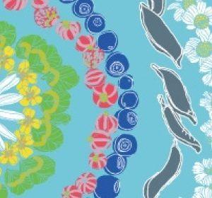 Mat Mandala Blue