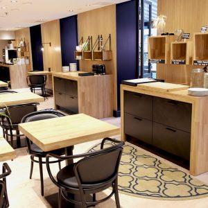 Design interior al hotelului verso